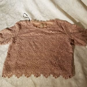 Womens top Divided by H & M beige